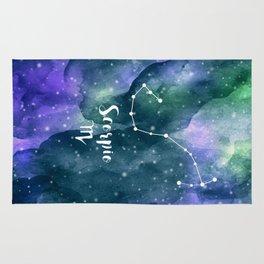 Scorpius Constellation Rug