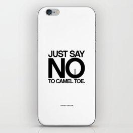 Camel Toe iPhone Skin