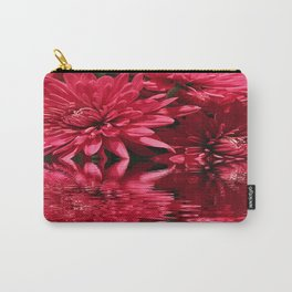 Chrysanthemum Reflections Carry-All Pouch