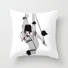 Chiyo - Eternal Throw Pillow