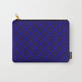 Scottish Fabric Blue High Resolution Carry-All Pouch