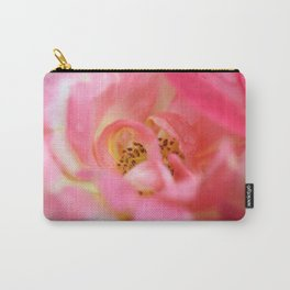 Iridescent Rose Carry-All Pouch