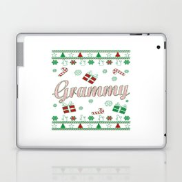 Grammy Christmas Laptop & iPad Skin