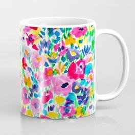 Flower Fields Pink Coffee Mug