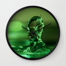The Water Warrior Wall Clock