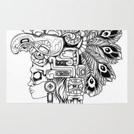 Mayan Warrior Rug