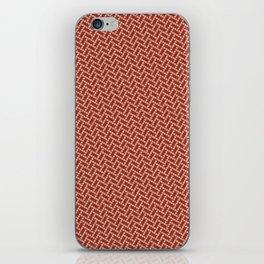 Braided Dots 1 iPhone Skin