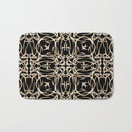 Abstract pattern . Bath Mat