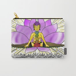 Chakras With Lotus Carry-All Pouch