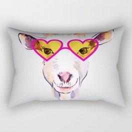 Cute goat Rectangular Pillow