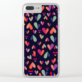 Heart of Armenia Clear iPhone Case