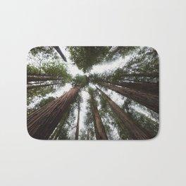 Redwood Portal - nature photography Bath Mat