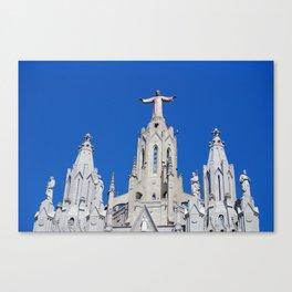 Tibidabo Church. Barcelona, Spain. Catalonia. Canvas Print