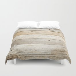 Vintage Wood Duvet Cover