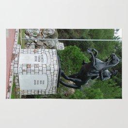 Ataturk Statue Turunc Rug