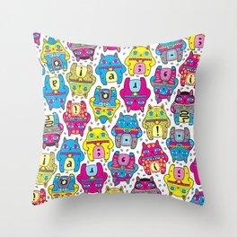 CatCat For Ever Throw Pillow