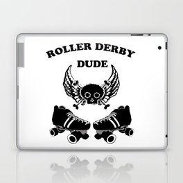 Roller Derby Dude Laptop & iPad Skin