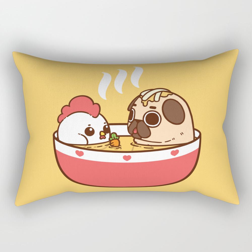 Chicken Noodle Puglie Soup Rectangular Pillow RPW2956855