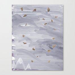 Tectonics 3 Canvas Print