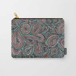 Paisley pattern in pastel colors Carry-All Pouch