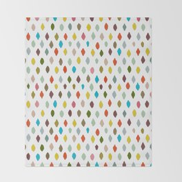 PIPS pure white Throw Blanket