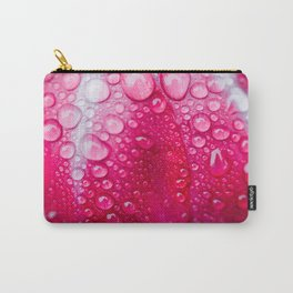 peony + raindrops Carry-All Pouch