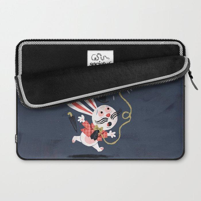 White Rabbit - Alice in Wonderland Laptop Sleeve
