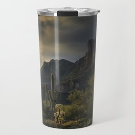 Rainy Day in the Superstitions Travel Mug