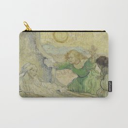 The Raising of Lazarus (after Rembrandt) Carry-All Pouch