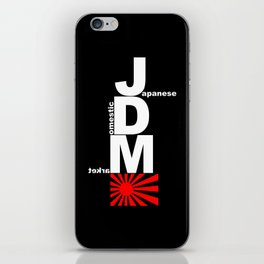 Japanese Domestic Market iPhone Skin
