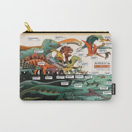 BEHOLD! THE DINOSAURS!  Carry-All Pouch