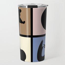 Cartoon Characters  Travel Mug