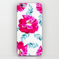 Fluorescent Florals #society6 #decor #buyart iPhone & iPod Skin