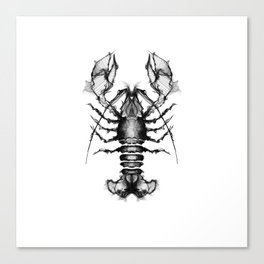 Lobster and Shrimps Canvas Print