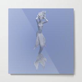 Syrenox - the mermaid Metal Print