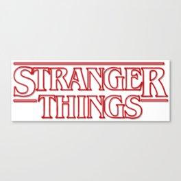 New Popular Stranger Thing Merch Canvas Print