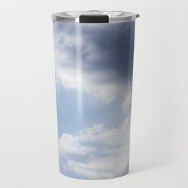 Sky and Clouds Travel Mug