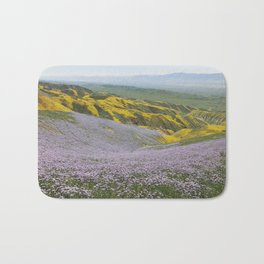 California Wildflowers Bath Mat
