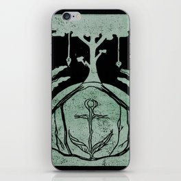 Grounding (Black) iPhone Skin