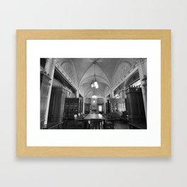 Library 1 Framed Art Print