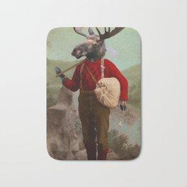 Lumberjack Marvin Moose Bath Mat