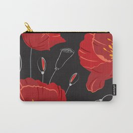 Poppy variation 8 Carry-All Pouch