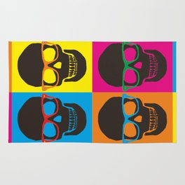 Colorfull Skulls Rug