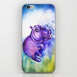 Fiona the Hippo - Splashing around iPhone Skin