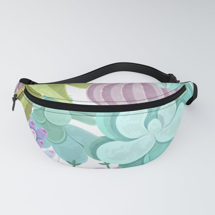 Tropical Cactus Pattern Fanny Pack