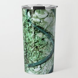 GREEN PICTURE OF A TIRE Travel Mug