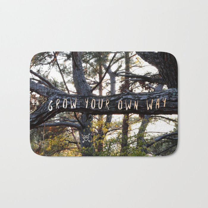 Grow Your Own Way Bath Mat