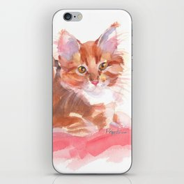 Ginger Girl iPhone Skin