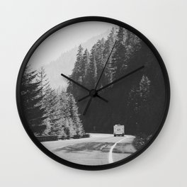 ROAD TRIP / Canada Wall Clock