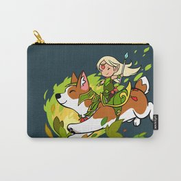 Corgi and Fairy Carry-All Pouch